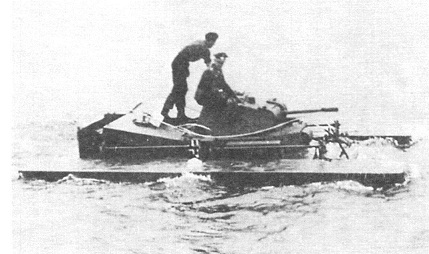 Плавающие танки второй мировой войны