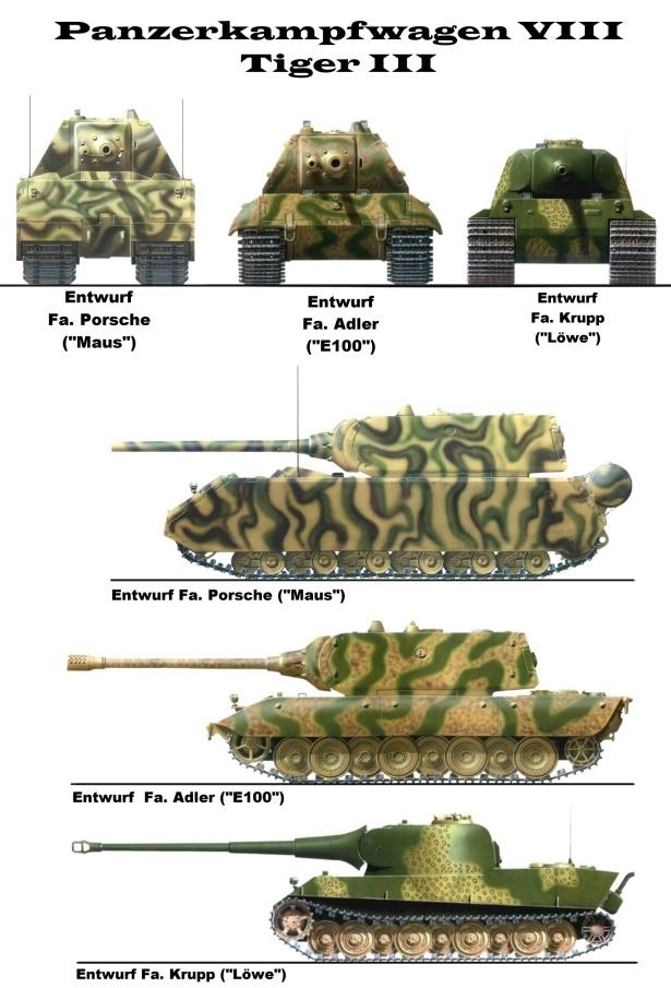 Проект танка ber медведь