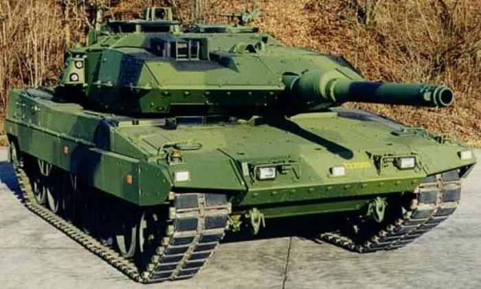 leopard танк