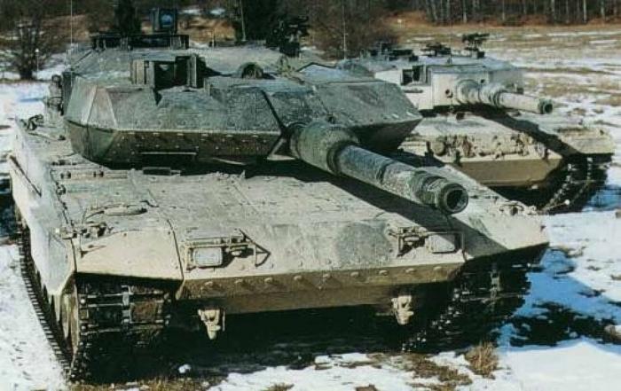 леопард танк