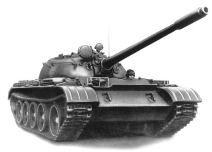 танк т-55 фото