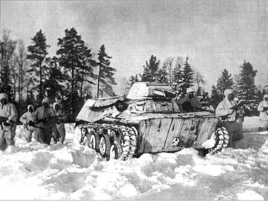 Т 40 во время битвы под москвой