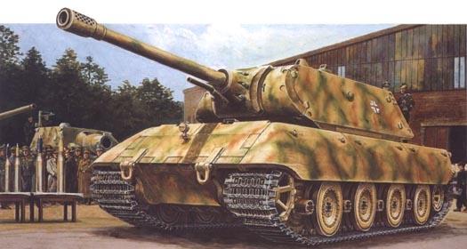 е-100 танк